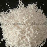 Produto comestível de branco de floco 77% do cloreto de cálcio