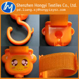 Gancho de nylon com fivela de plástico Gancho de suspensão para carrinho de bebê