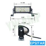 지프를 위한 36W 10.5inch Epistar 옥외 LED 모는 표시등 막대