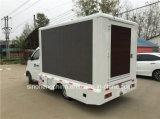 Горячие продажи дешевой Changan Mini Mobile LED погрузчик P8 прокрутка рекламы грузовиков