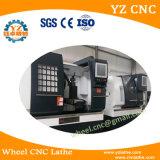 Felge Wrc26, die Maschine mit Drehbank CNC geraderichtet