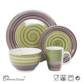 Novo Design de venda quente Handpainted Dinnerware cerâmica