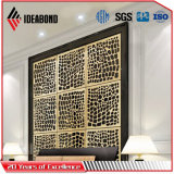 Ideabond wahlweise freigestellter CNC-Ausschnitt-Bildschirm-zusammengesetztes Aluminiummaterial