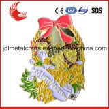 Il distintivo in lega di zinco di Pin dello smalto di alta qualità della pressofusione con la frizione della farfalla