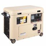 공냉식 2 - 7kw 휴대용 침묵하는 유형 디젤 엔진 발전기 (DG7250LN)