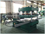 Máquina de vulcanización modificada para requisitos particulares cuatro columnas del suelo de goma