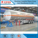 carburant /huile d'alliage d'aluminium d'essieu de 40cbm 40000L 3/de transport de camion-citerne remorque diesel semi
