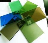 4mm 5mm 6mm 8mm 10mm Gold, Bronze, blaues überzogenes Glas und Grau, grünes reflektierendes Glas für Glasgebäude
