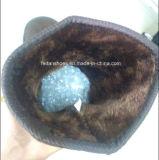Les dernières bottes à injection Bottes à neige confortables Bottes hiver Bottes en acier (FF328-1)