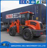 Carregador Mahindra da roda dianteira da cubeta da neve do carregador de China