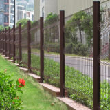 Загородка сваренной сетки PVC сбывания Китая горячая