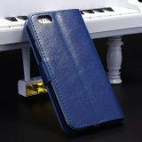 Cubierta/caja móviles del teléfono de /Cell del cuero genuino para iPhone6/6s/6s más