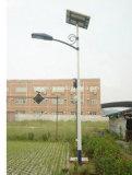20W luz de rua psta solar do diodo emissor de luz 5-6m