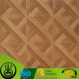 O Fsc Certificated o papel decorativo do assoalho com projeto do parquet