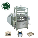 Hghy los desechos de papel reciclado de envases industriales máquina de moldeo por bandeja