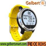 Het Slimme Horloge van de Sport van het Tarief van het Hart van de Pedometer van Bluetooth van Gelbert