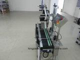 Machine à étiquettes automatique horizontale de surface plane de plan première