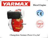 Recul marin refroidi par air de moteur diesel de cylindre simple de Yarmax ou démarreur électrique