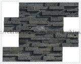 용암 벽을%s 돌 구멍 돌 석회화 회색 대리석 도와