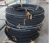 Boyau hydraulique en caoutchouc de fil d'acier de pression flexible de la tresse En857 2sc