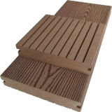 O WPC barata de madeira em deck chão composto de plástico para venda