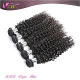 Необработанных природных вьющихся волосах расширения полной Cuticle необработанные бразильские вьющихся волос
