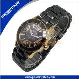 Keramische Marken-Schwarz-Armbanduhr für Männer