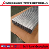 strato d'acciaio galvanizzato tuffato caldo del tetto di Gi ondulato di 0.12-1.5mm