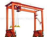 Резиновые устали козловой кран Weihua контейнер для продажи (РТГ)