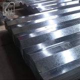 Revestimento de zinco SGCC pintadas de folha de Telhado de aço corrugado galvanizado
