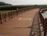 Le WPC un revêtement de sol de plein air de haute qualité