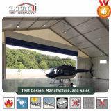20m Überspannungs-Flugzeug-Hangars mit aufblasbarem Dach-System und Sandwichwände für Verkauf
