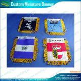 Mini fanion accrochant de satin de bannière utilisé par décoration (M-NF12F10010)