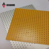 2018 Ideabond изогнутые ЧПУ станок алюминиевые перфорированные панели