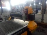 Madera doble del CNC del eje de rotación que talla la maquinaria para la venta