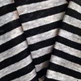 La tela ha lavorato a maglia la banda tinta filato (QF14-1546-SS)