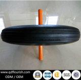 14 인치 외바퀴 손수레 트롤리를 위한 단단한 고무 바퀴 타이어