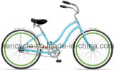 bicyclette de croiseur de la plage 24inch/Madame Beach Cruiser Bicycle/bicyclette de croiseur plage de fille