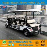 골프 코스를 위한 Zhongyi 6 Seater 전기 시설 골프 카트