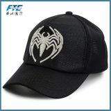 網の野球帽のカスタム革刺繍の帽子のトラック運転手の帽子