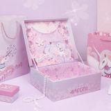 Rêve de pourpre, Unicorn, bijoutier, Boîte de rangement de cosmétique