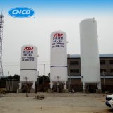Réservoir de stockage cryogénique d'oxygène liquide pour l'usine de l'oxygène