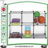 6 Rack de armazenamento do fio de empilhamento para brinquedos