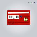 Carte de piste magnétique de puce de l'identification 4442 de plastique