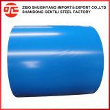 Dx51d Sgss en Color de la bobina de acero con recubrimiento galvanizado PPGI