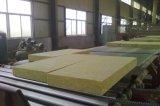 Densidade de isolamento térmico 120kg / M3 Tubo de lã de rocha com papel alumínio