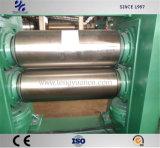 Rolete superior 2 Calandra para produção de folhas de borracha eficiente