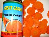 Cenouras enlatadas 400g das fatias