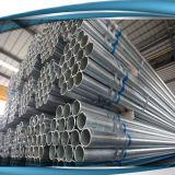 温室の長方形の鋼鉄管、フレーム、水は、鉄の管に電流を通した