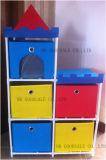 Устроитель коробки хранения замока башни малышей симпатичный DIY установленный--5PCS (GSA999-5)
